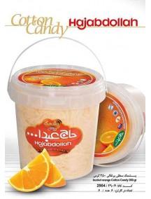 فروش پشمک پرتقالی