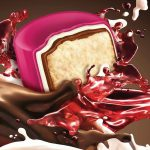 پخش پشمک شکلاتی